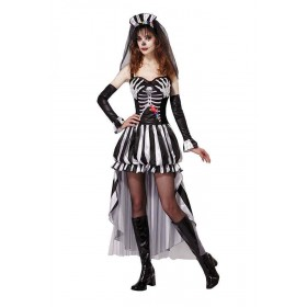 Skeleton King Fancy Dress Costume