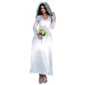 Ladies Bride (Royal Family) Royal Outfit - One Size (White)