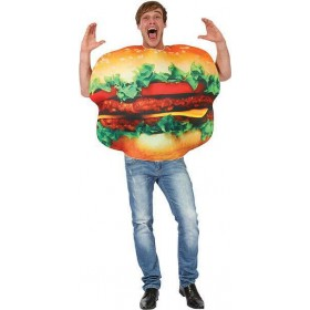 Adults Unisex Burger (Food) Fancy Dress Costume