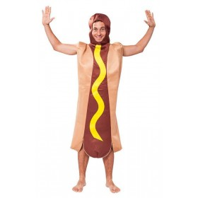 Hot Dog Adult (Fancy Dress Costume)