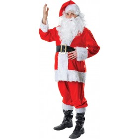 Santa Fur (7Pcs) Fancy Dress Costume