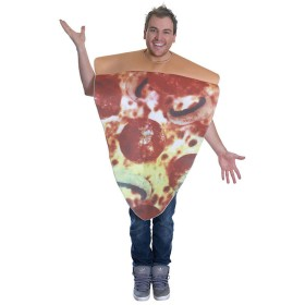 Adults Unisex Pizza Slice (Food) Fancy Dress Costume