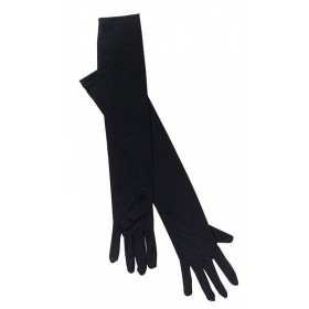 Gloves. Opera, Black (1920S , Burlesque Fancy Dress Gloves)