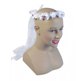 Flower Headband. White Accessories