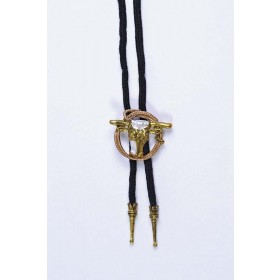 Cowboy Bootlace Tie.-Steer + Rope Accessories