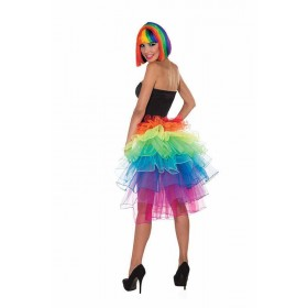Rainbow Bustle Skirt Costume