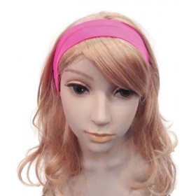 Neon 80'S Hairband Pink Accessories