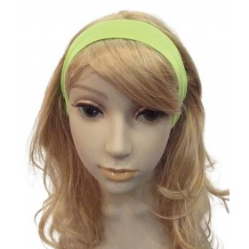 Neon 80'S Hairband. Green Accessories