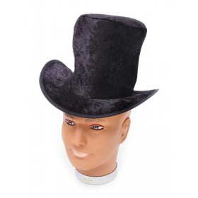 Top Hat. Childs Black Velvet Hats
