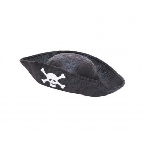 Pirate Hat Black Childs Size Hats