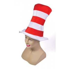 Red/White Striped Top Hat Childs Hats