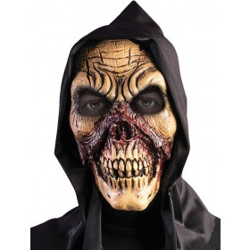 Adults Bloody Skull Mask Halloween Fancy Dress Accessory