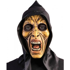 Adults Hooded Zombie Mask Halloween Fancy Dress Accessory