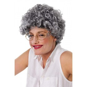 Old Lady Curly Wigs