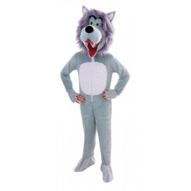 Wolf. Big Head Fancy Dress Costume