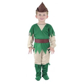 Toddler Robin Hood Animal Outfit - One Size (Green, Brown)