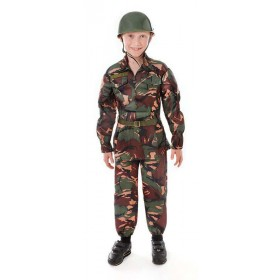 Boys Soldier Camouflage Army Outfit - (Camo )