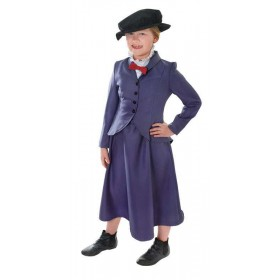 Girls Nanny Film Outfit - (Blue)