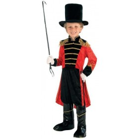 Boys Big Top Ring Master Fancy Dress Costume