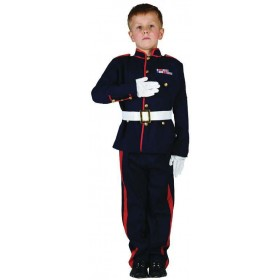 Boys Soldier. Ceremonial Army Outfit - (Blue)