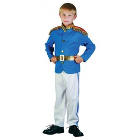 Boys Prince Fairy Tales Outfit - (Blue, White)