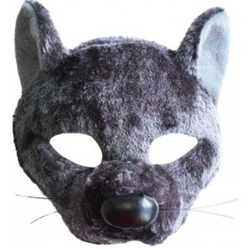 Rat Mask On Headband With Sound Masks
