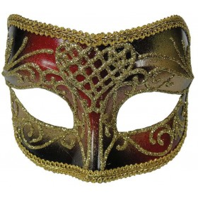 Red/Gold Male Mask Masks