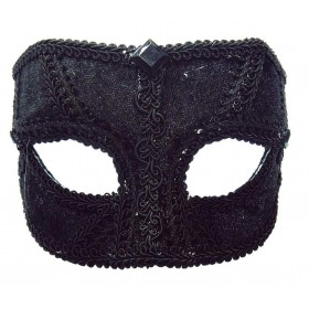Black Velvet Mask Masks