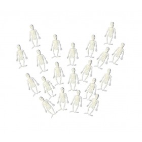 Soft White Skeletons (20Pcs) Accessories