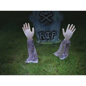 Zombie 2 Arms Lawn Stakes Accessories