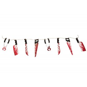 Bloody Weapon Garland Hallowen Decoration