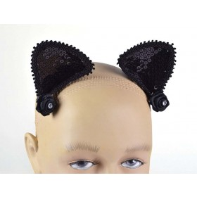 Cat Ears On Hair Clip Accessories