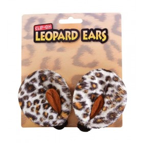 Leopard Ears. Clip On Accessories