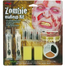 Zombie Make Up Kit. Male Makeup