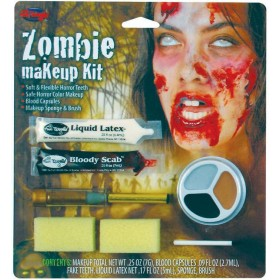 Zombie Make Up Kit. Female Makeup