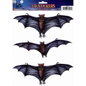 Window Sticker 3D Bat Halloween Decoration