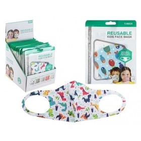 Face Covering For Kids (Unisex) Various Styles (1 Supplied)