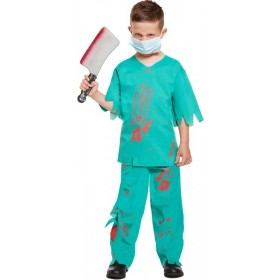 Fancy Dress Child Bloody Doctor Small 4-6 Yrs