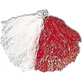 Pom Pom Red/White - Fancy Dress