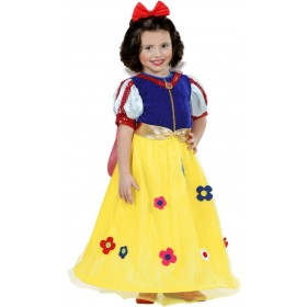 Girls Fairytale Princess Dress Fairy Tales - (Blue, Yellow)