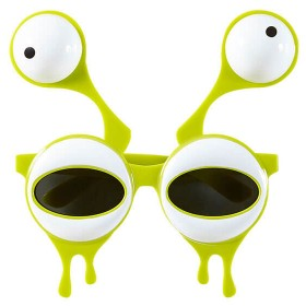 Adult Green Alien/Monster Glasses Fancy Dress Accessory