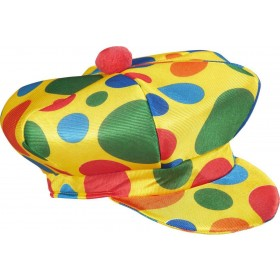 Mens Clown Cap Hats - (Multicolour)