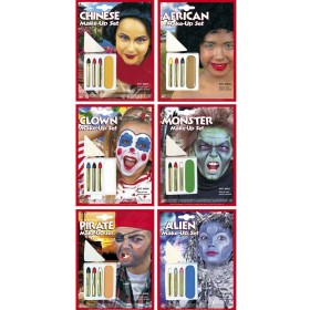 Characterial Makeup Set 6 Styles - Fancy Dress