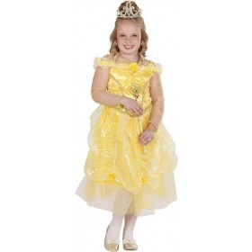 Girls Sunshine Princess Royal Outfit - (Gold)