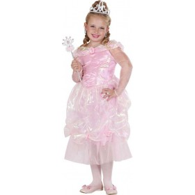 Girls Rose Princess  Royal Outfit - (Pink)