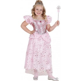 Girls Pink Princess/Fairy Fairy Tales Outfit - (Pink)