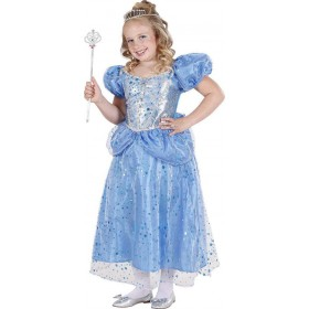 Girls Blue Princess/Fairy Fairy Tales Outfit - (Blue)