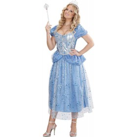 Ladies Blue Princess/Fairy Fairy Tales Outfit - (Blue)