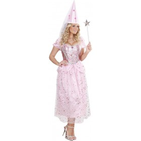 Ladies Pink Princess/Fairy Fairy Tales Outfit - (Pink)
