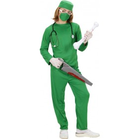 Girls Surgeon Costume Doctors/Nurses Outfit - (Green)